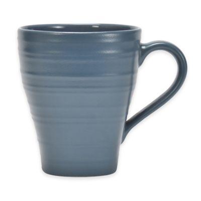 Mikasa® Swirl Square 16 oz. Mug in Blue