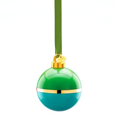 kate spade new york Be Merry Be Bright Christmas Ornament in Green/Turquoise
