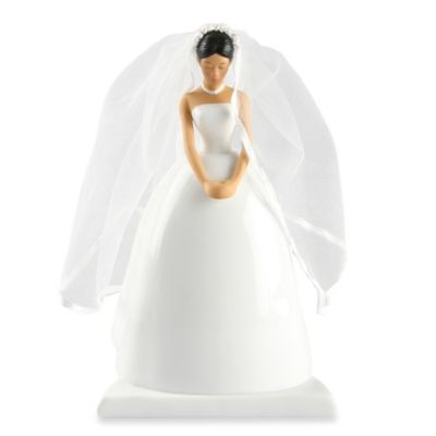 Ivy Lane Design Ty Wilson Asian Bride Cake Topper