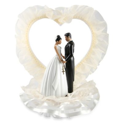 Ivy Lane Design Ty Wilson Novia Latina Cake Topper in Ivory