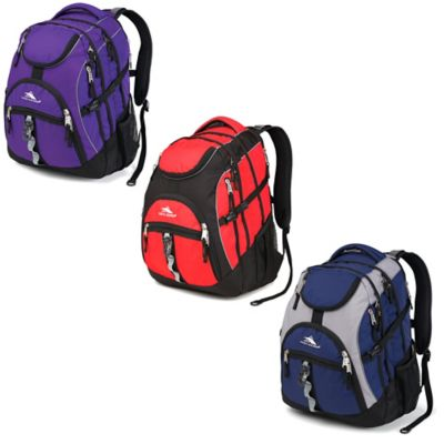 High Sierra Access Backpack in Red