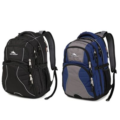 Navy Swerve Backpack