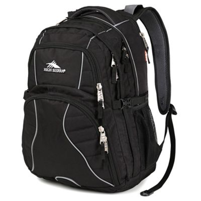 High Sierra Swerve Backpack in Black