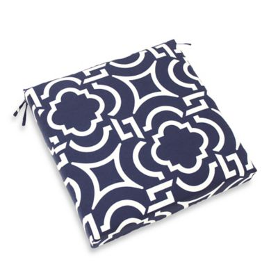 Outdoor Dining Seat Cushion in Carmody