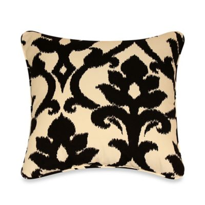 17-Inch x 17-Inch Outdoor Throw Pillows with Welt Cord in Slater (Set of 2)