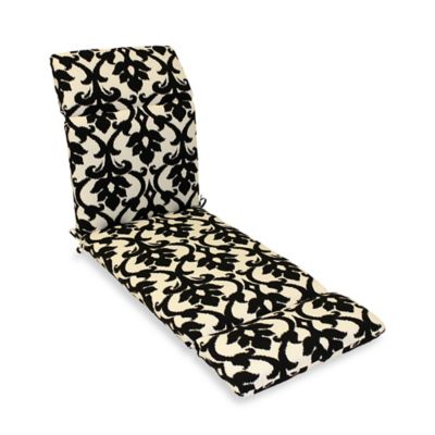 Outdoor Chaise Lounge Cushion in Slater