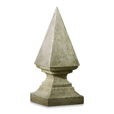 Campania Avrille Cast Stone Finial Statue
