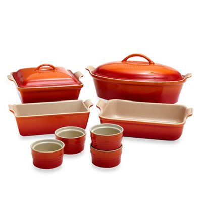 Le Creuset® 10-Piece Bakeware Set in White