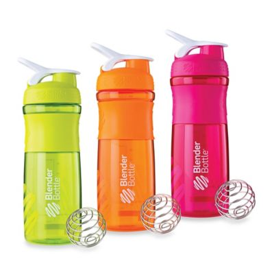 BlenderBottle® SportMixer™ 28 oz. Bottle in Black/Green