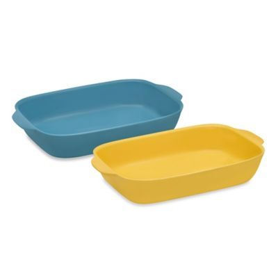 CW by CorningWare® 3-Quart Oblong Casserole Baking Dish in Pool Blue