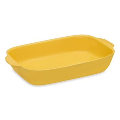 CW by CorningWare® 3-Quart Oblong Casserole Baking Dish in Yellow