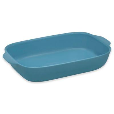 CW by CorningWare® 3-Quart Oblong Casserole Baking Dish in Pool Blue