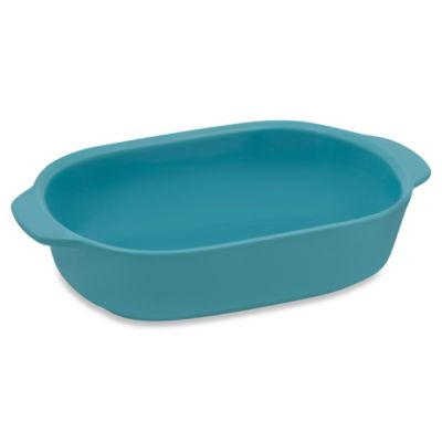 CW by CorningWare® 1.5-Quart Ceramic Baking Dish in Blue