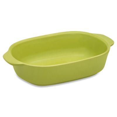 CW by CorningWare® 1.5-Quart Ceramic Baking Dish in Green