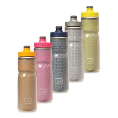 Nathan™ Fire & Ice 20 oz. Insulated Reflective Water Bottle in Orange