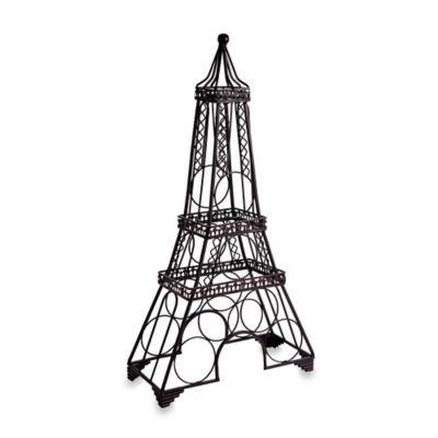 Eiffel Tower Wine Rack in Black