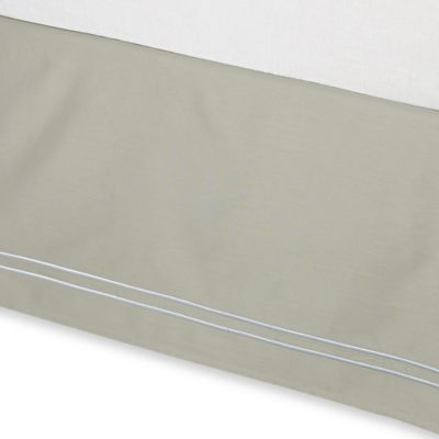 Wamsutta® Baratta Stitch Twin Bed Skirt in Sage