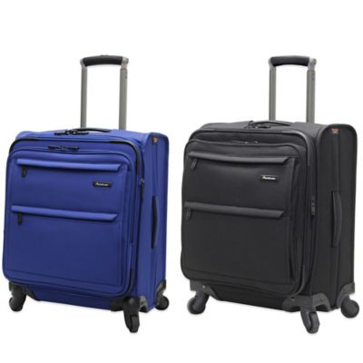 Pathfinder Revolution Plus 20-Inch Wide Body Expandable Carry On in Blue