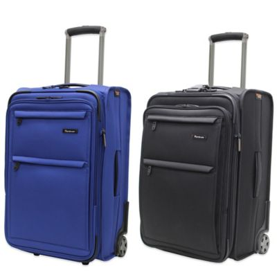 Pathfinder Revolution Plus 22-Inch Expandable Oversized Carry-On with Suiter in Black