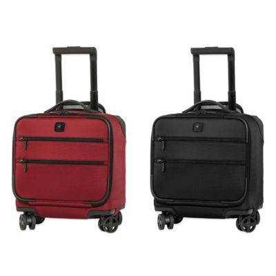 Victorinox® Lexicon 8-Wheel Overnight Bag with Retractable Handle in Red