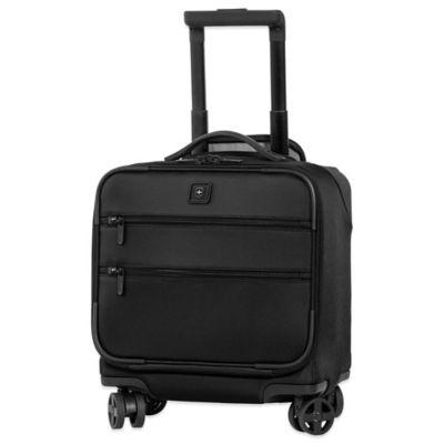 Victorinox® Lexicon 8-Wheel Overnight Bag with Retractable Handle in Black