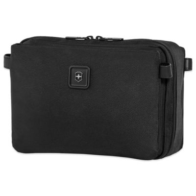 Victorinox® Lexicon Hanging Toiletry Kit in Black