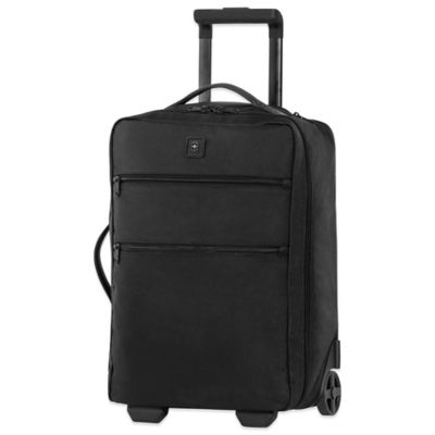 Victorinox® Lexicon 20-Inch Slim-Wheeled Cabin Bag in Black