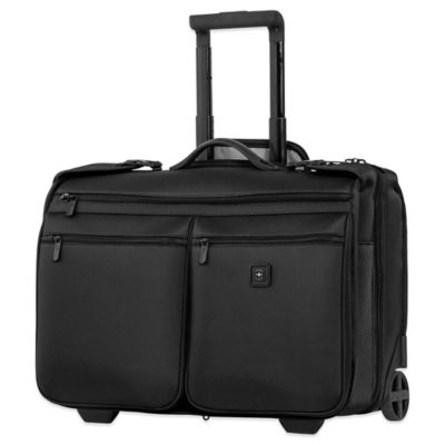 Victorinox® Lexicon Wheeled Garment Storage Carry On in Black