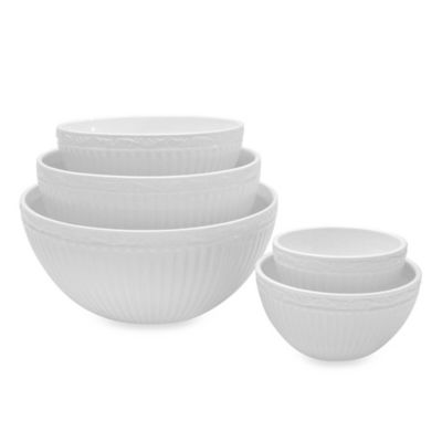 Mikasa® Italian Countryside Stacking Bowls (Set of 5)