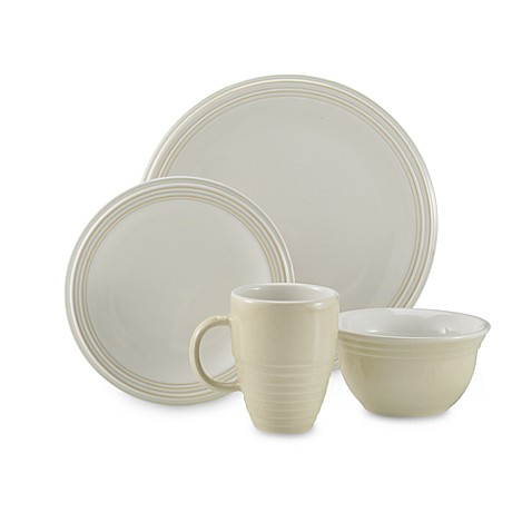 Cappuccino 16-Piece Dinnerware Set