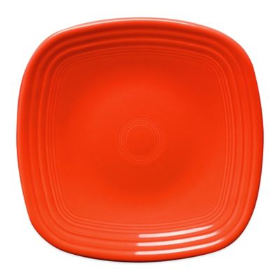 Fiesta® Square Dinner Plate in Poppy