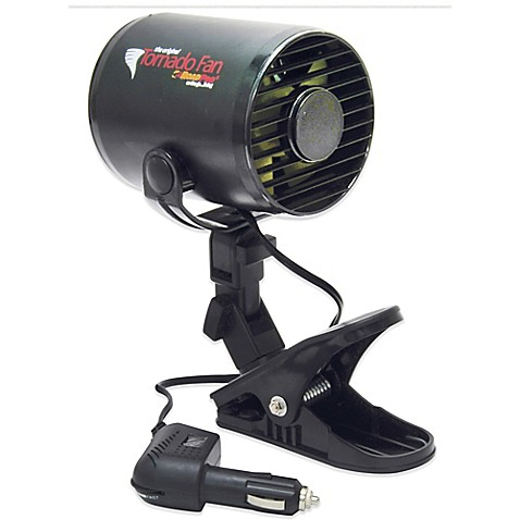 buy roadpro 12 volt tornado fan with mounting clip from bed bath beyond. Black Bedroom Furniture Sets. Home Design Ideas