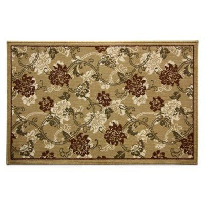 Bacova 1-Foot 7-Inches 2-Feet 9-Inches Natura Elise Rug in Spice