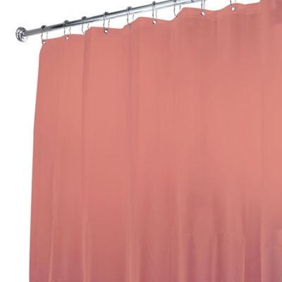 5-Gauge Shower Curtain Liner in Medium Blue
