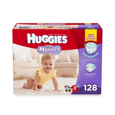 Huggies® Little Movers 128-Count Size 3 Giant Pack Diapers