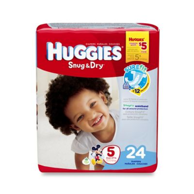 Huggies® Snug & Dry 24-Count Size 5 Jumbo Pack Diapers