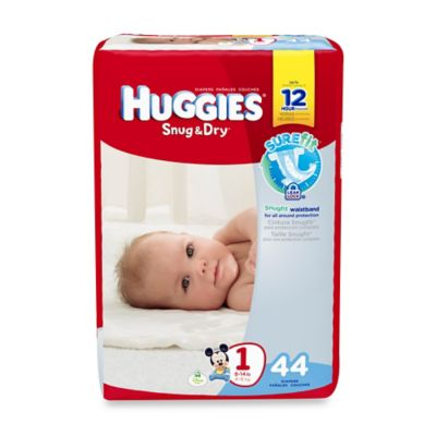 Huggies® Snug & Dry 44-Count Size 1 Jumbo Pack Diapers