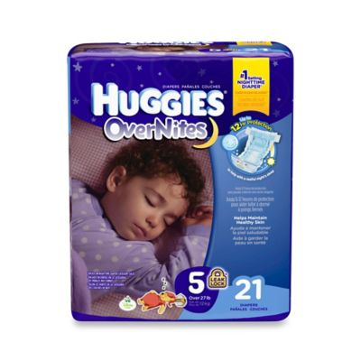 Huggies® Overnites Diapers 21-Count Size 5 Jumbo Pack Diapers