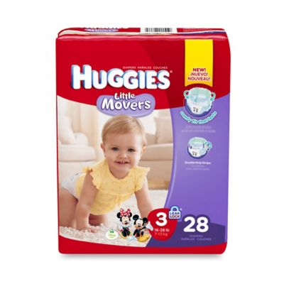 Huggies® Little Movers 28-Count Size 3 Jumbo Pack Diapers