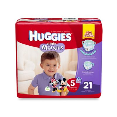 Huggies® Little Movers 21-Count Size 5 Jumbo Pack Diapers