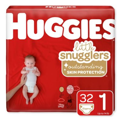 Huggies® Little Snugglers 35-Count Size 1 Jumbo Pack Diapers
