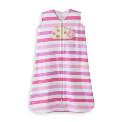 HALO® SleepSack® Extra Large Cotton Wearable Blanket in Pink Ladybug