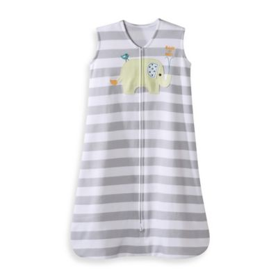 HALO® SleepSack® Small Cotton Wearable Blanket in Grey Elephant