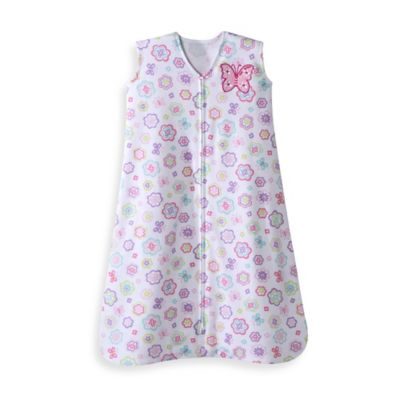HALO® SleepSack® Large Cotton Wearable Blanket in Flutter Petals