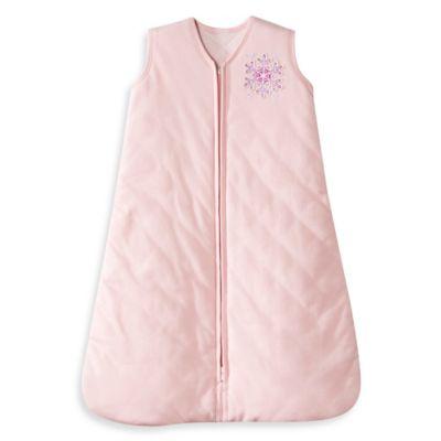HALO® SleepSack® Medium Winter Weight Wearable Blanket in Pink Snowflake