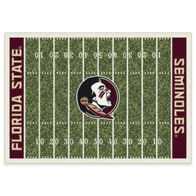 Florida State University 7-Foot 8-Inch x 10-Foot 9-Inch Large Home Field Rug