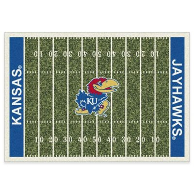 Kansas State University 7-Foot 8-Inch x 10-Foot 9-Inch Large Home Field Rug