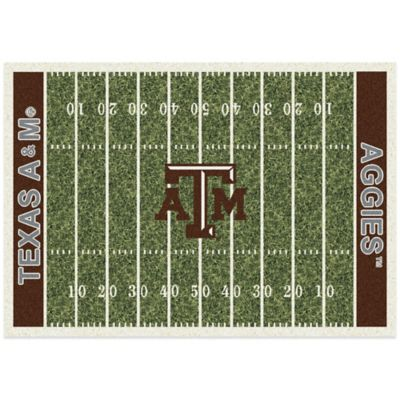 Texas A&M University 3-Foot 10-Inch x 5-Foot 4-Inch Small Home Field Rug