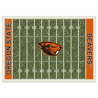 Oregon State University 7-Foot 8-Inch x 10-Foot 9-Inch Large Home Field Rug