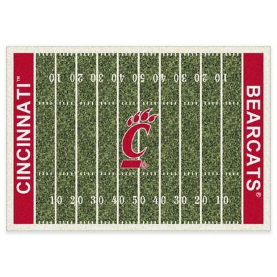 University of Cincinnati 5-Foot 4-Inch x 7-Foot 8-Inch Medium Home Field Rug
